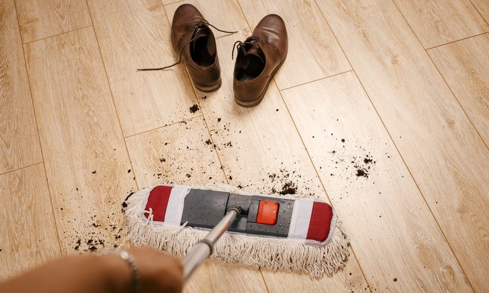 Prevent Footprints on Laminate Floors