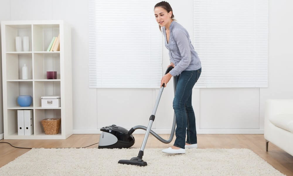 How to clean the living room rug