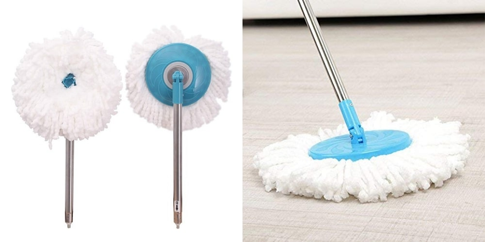 hurricane 360 spin mop and bucket reviews