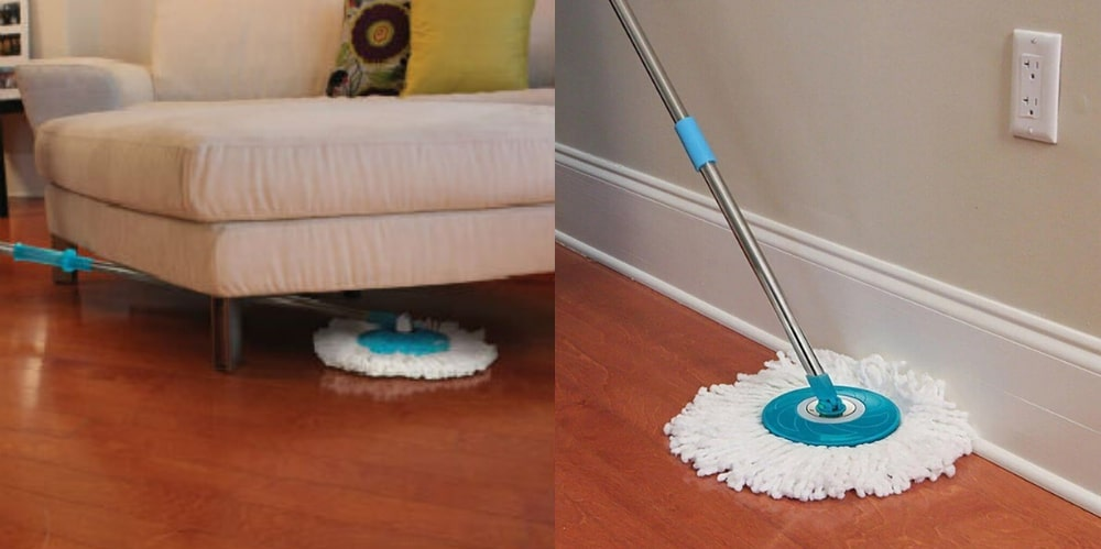 hurricane 360 spin mop reviews