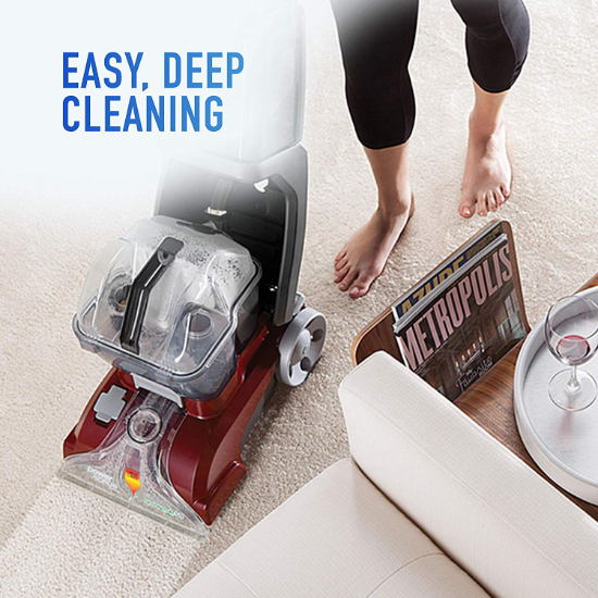 Hoover Power Scrub Deluxe Carpet Washer Reviews in 2020