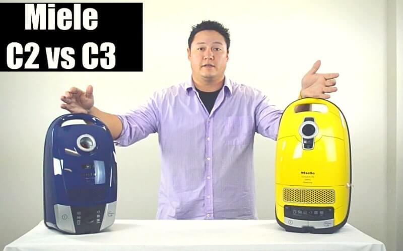 miele c2 vs c3