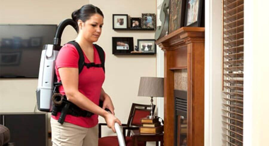 backpack vacuums commercial