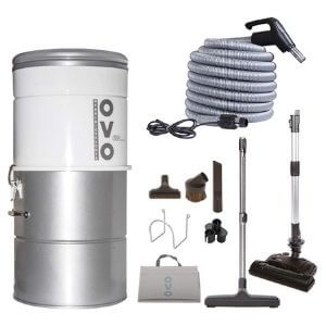 OVO Large and Powerful Central Vacuum System