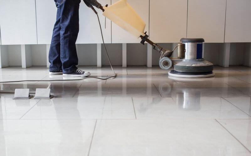 how to use a floor buffer